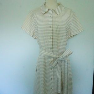 Kate Spade Summer Dress with Stripes and tie bow
